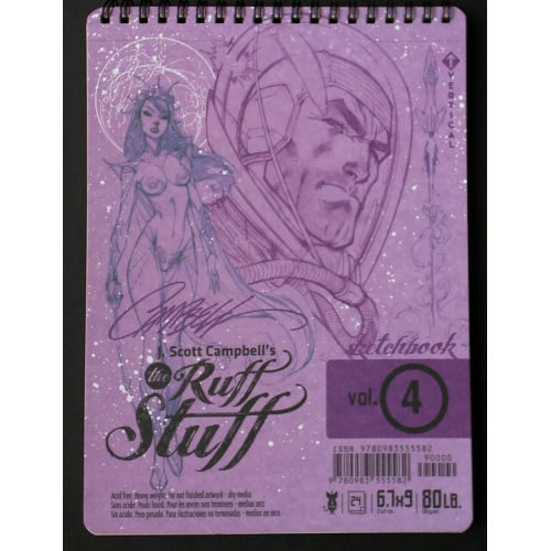J.Scott Campbell's Ruff Stuff Sketchbook 4