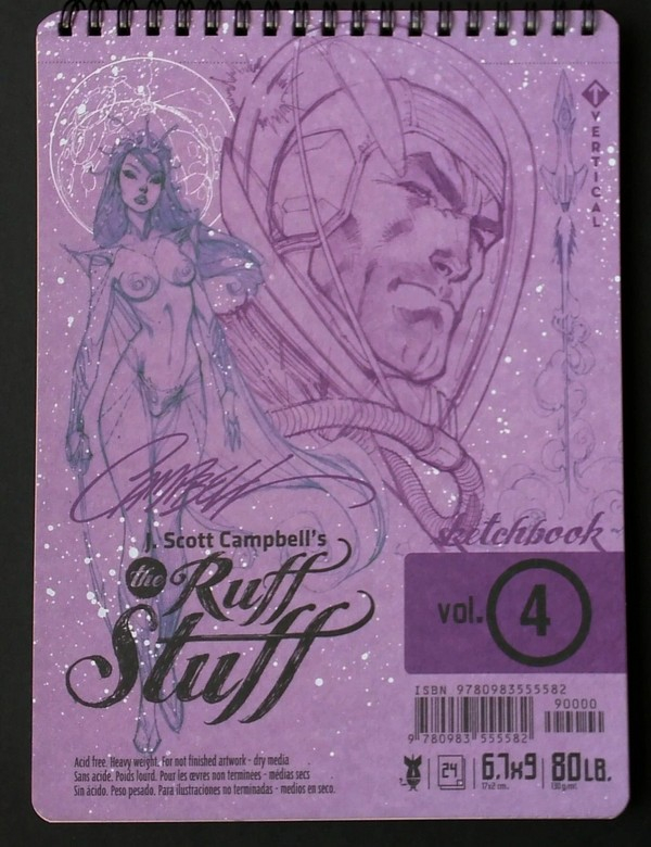 J.Scott Campbell's Ruff Stuff Sketchbook 3