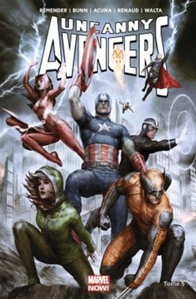 Uncanny Avengers Tome 5 (VF)
