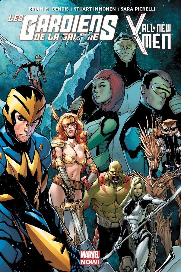 Les gardiens de la galaxie/All New X-men (VF)