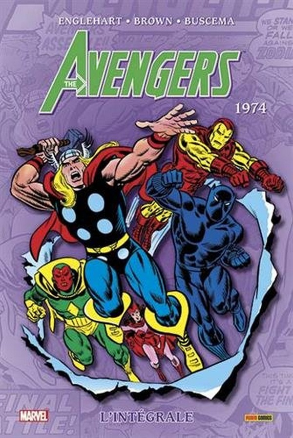 Avengers Intégrale Tome 11 1974 (VF)