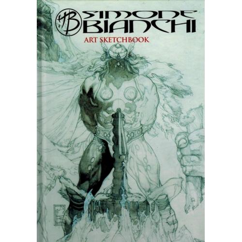 Simone Bianchi ART Sketchbook 2017 - 136 Pages - Signé