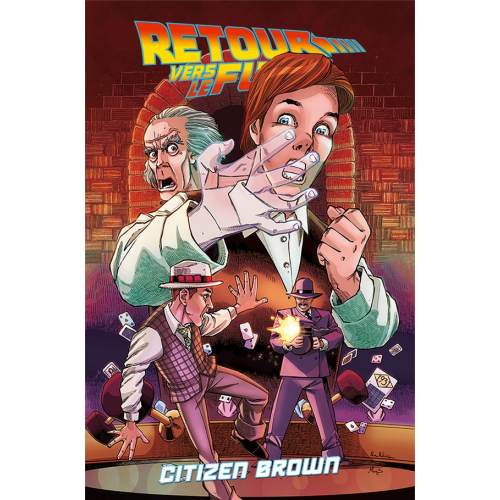 Retour Vers le Futur - Tome 3 - Citizen Brown (VF)