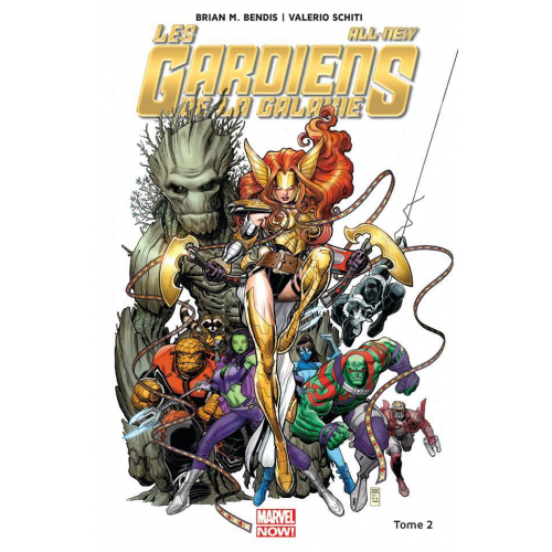 Les Gardiens de la galaxie All new different Tome 2 (VF)